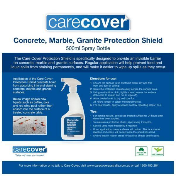 Concrete, Marble, Granite Protection Shield